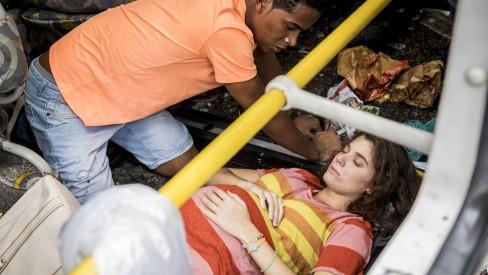 Meg (Giulia Bertolli) sofre acidente em Malhação: Toda Forma de Amar (Foto: Divulgação/Globo)