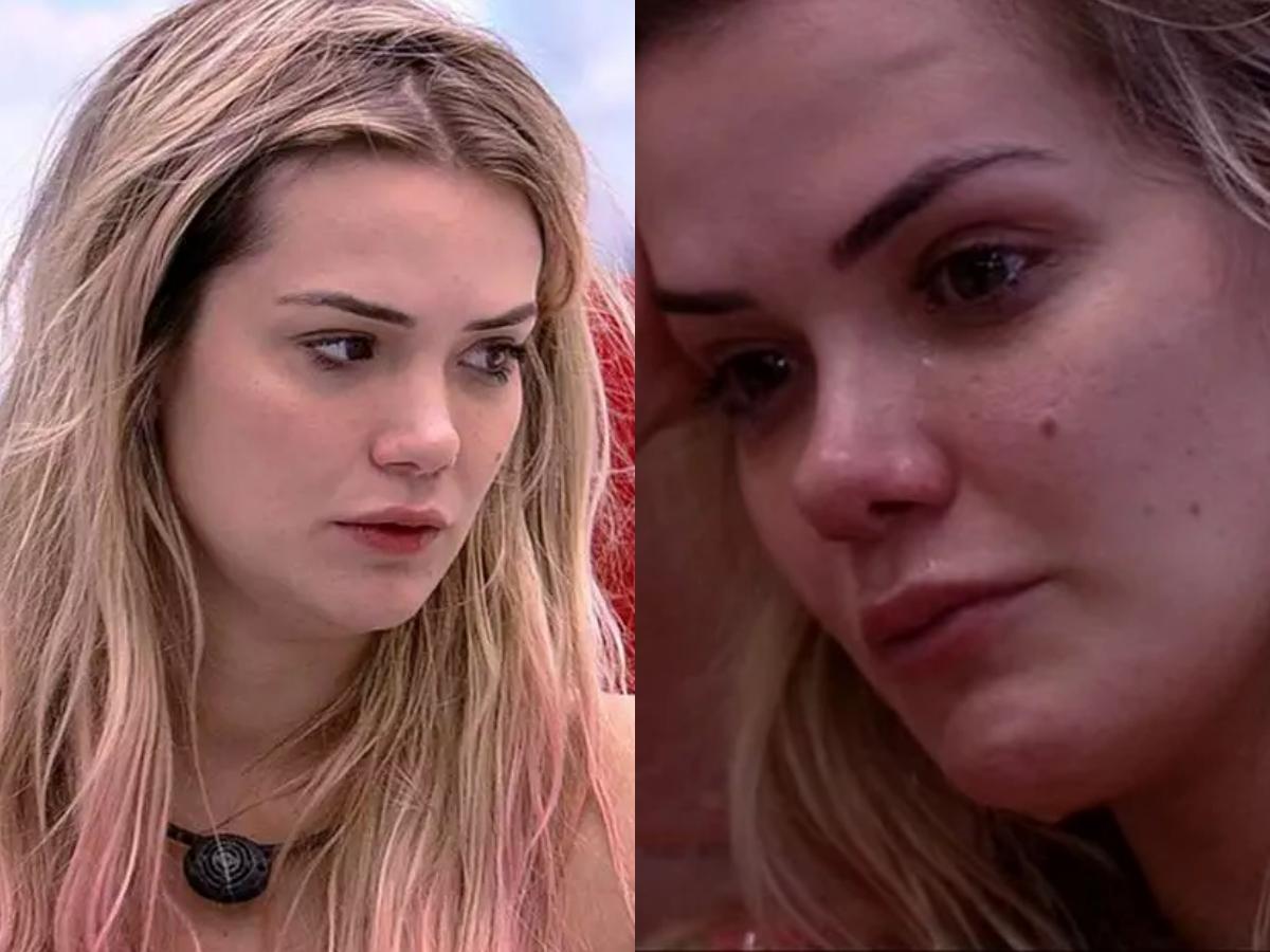 A famosa obstetra do BBB20, Marcela não conseguiu esconder sua tristeza ao falar sobre a saída de Daniel do reality show da Globo na manhã de hoje (Foto: Reprodução/Montagem TV Foco)