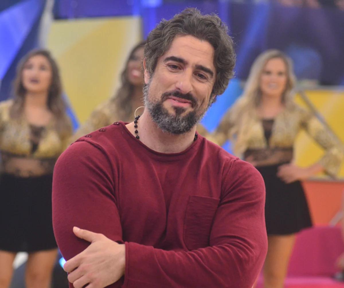 Marcos Mion no 'Legendários' (Foto: reprodução/RecordTV)