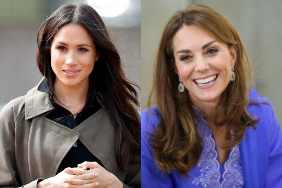 """Em meio a tensões, Meghan Markle define Kate Middleton como """"tensa e fria"""" (Foto: Reprodução)"""