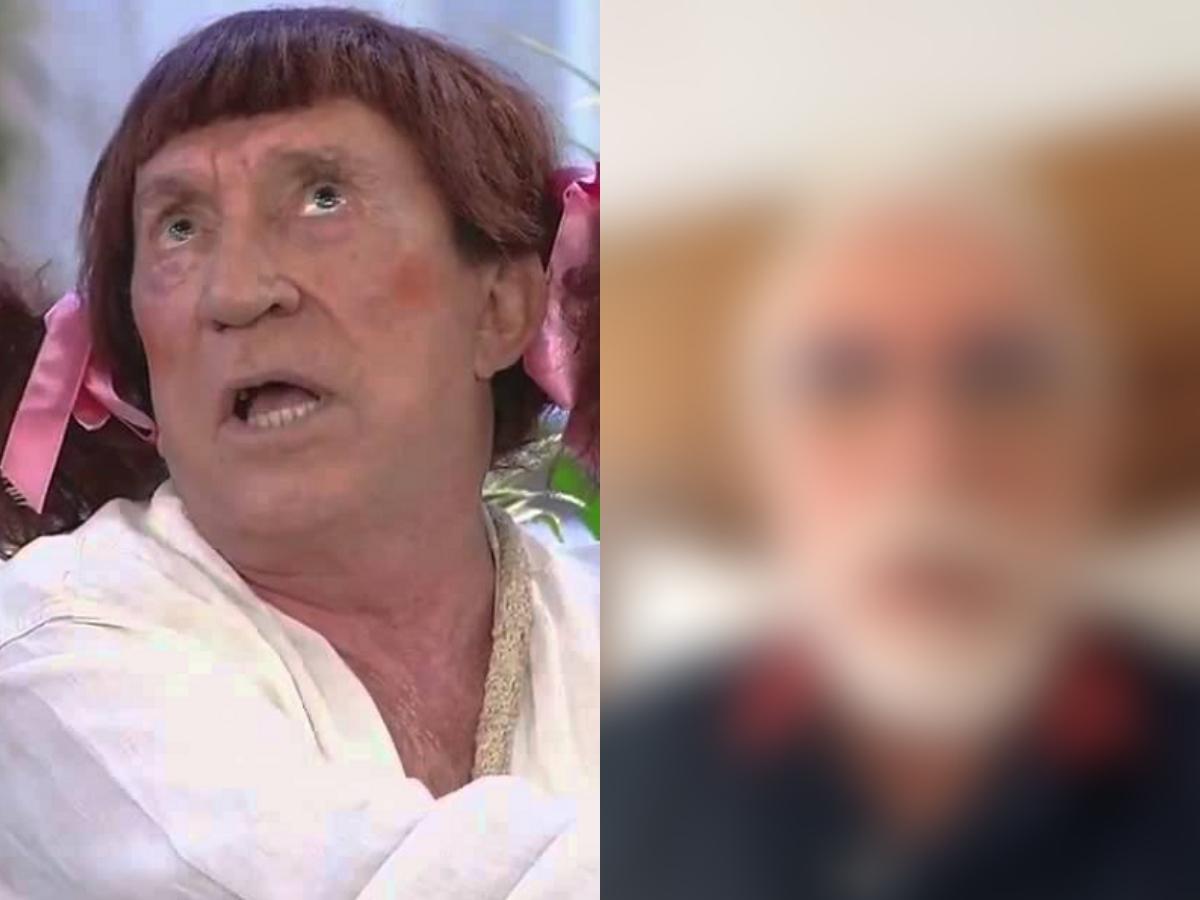 O famoso ex-comediante da A Praça É Nossa, do SBT e atual ator da Globo, Moacyr Franco agitou a internet ao aparecer irreconhecível (Foto: Reprodução)