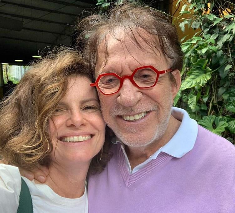 Moacyr Franco estará na segunda temporada da série da Globo, Segunda Chamada ao lado de Deborah Bloch (Imagem: Instagram)