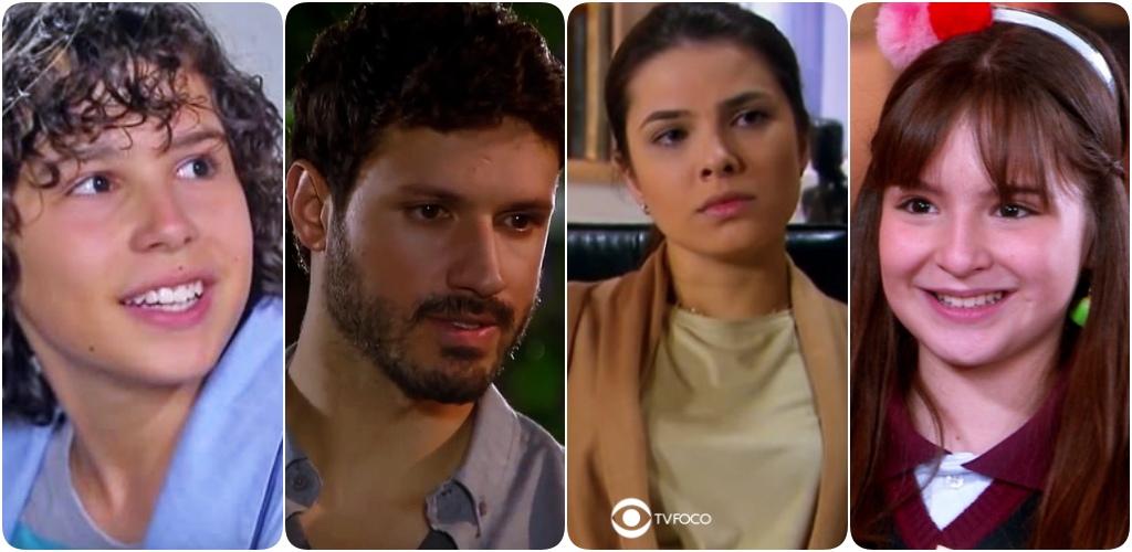 João, Marcelo, Luisa e Poliana terão mudanças em seus visuais no SBT em As Aventuras de Poliana