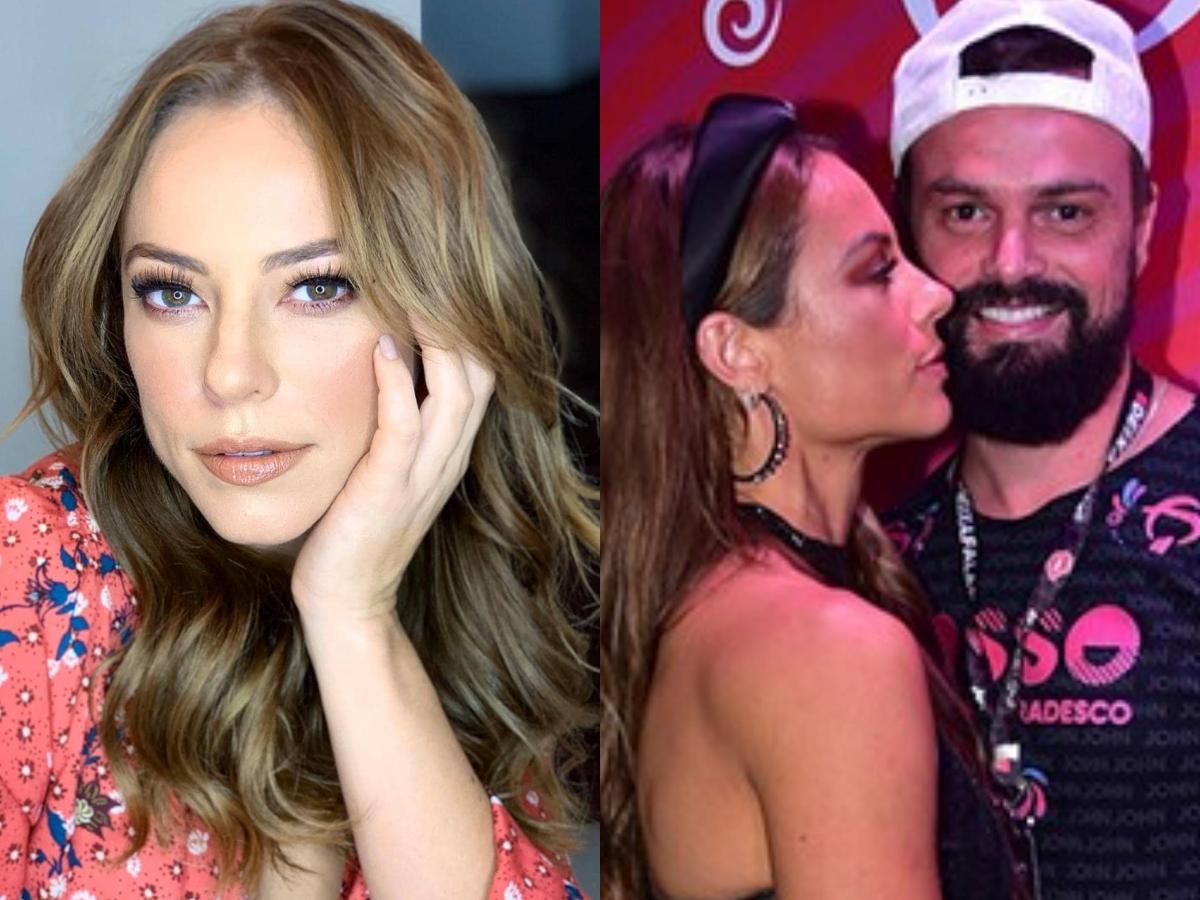 O novo namorado da famosa modelo e atriz da Globo, Paolla Oliveira, Douglas Maluf agitou as redes sociais ao compartilhar um clique para lá de romântico em meio a calamidade (Foto: Reprodução/Instagram/montagem TV Foco)