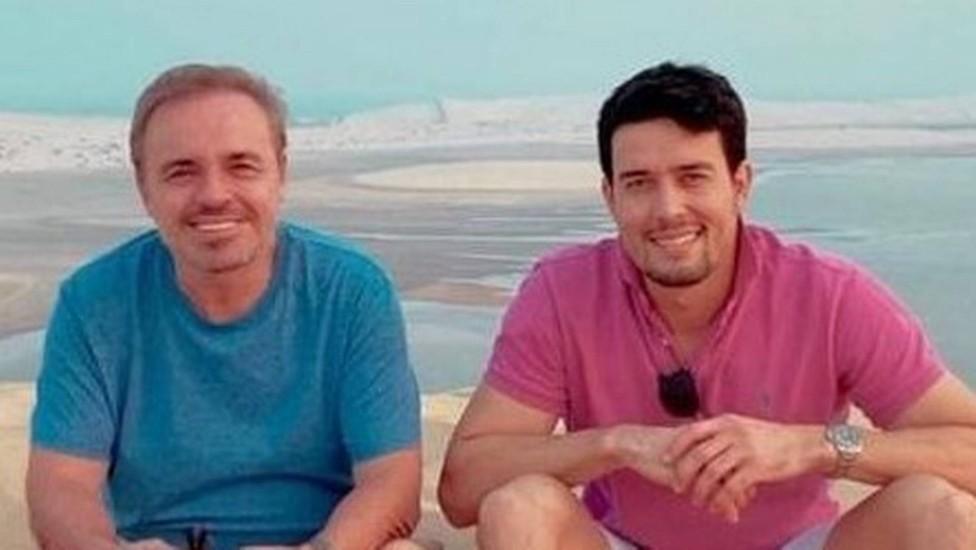 Gugu e seu suposto namorado, Thiago Salvático - Foto: Reprodução