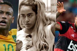 Neymar e Gabigol estão em guerra e agora ficarão cara a cara (Foto montagem: TV Foco)