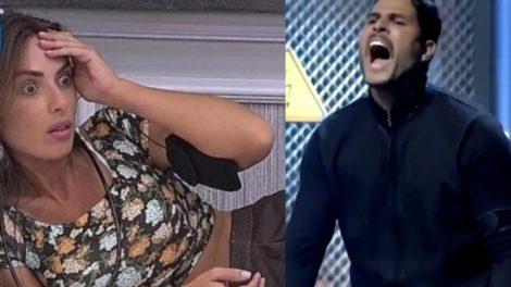 Nicole Bahls fez altar revelações sobre sua relação com Marcelo Bimbi (Foto: Reprodução/Record/Montagem TV Foco)