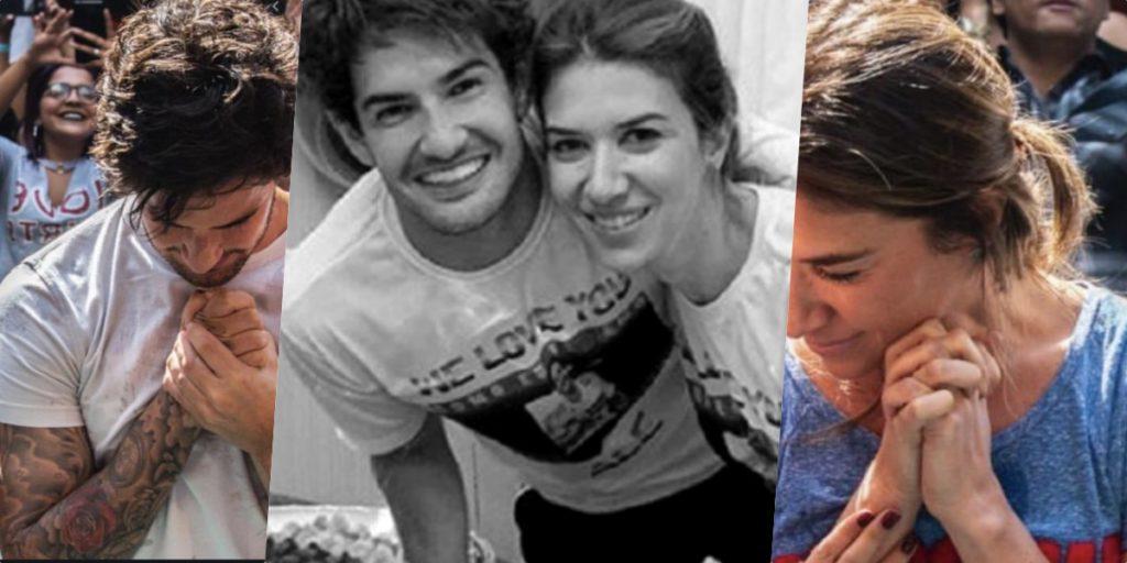 Alexandre Pato e Rebeca Abravanel viveram dias complicados (Foto montagem: TV Foco)