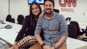Phelipe Siani e Mari Palma na CNN Brasil - Foto: Divulgação
