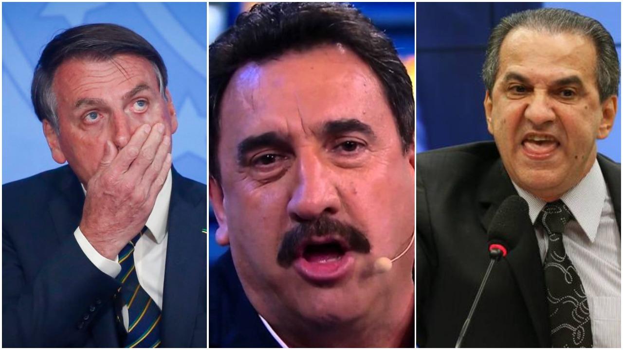 Ratinho conversou com Bolsonaro e o político demonstrou apoio as atitudes de Malafaia (Foto: Reprodução)