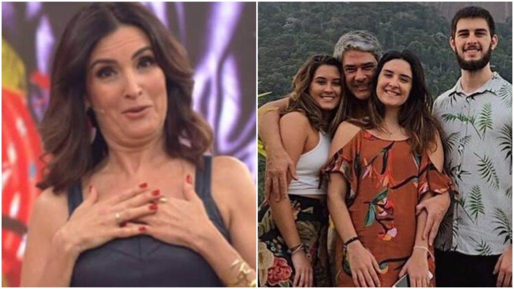 Fátima Bernardes troca filhos pelo namorado (Foto: Reprodução)