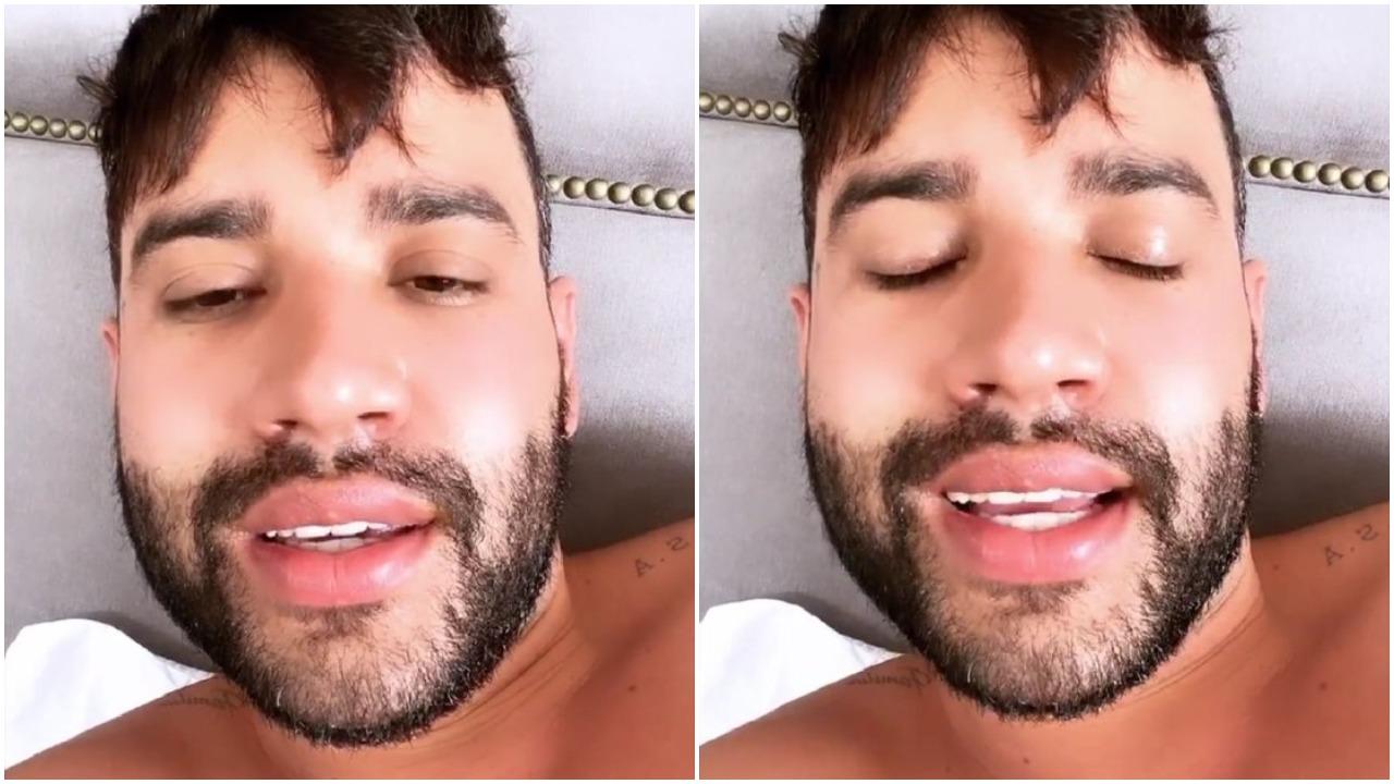 Gusttavo Lima se excede na bebida e faz desabafo (Foto: Reprodução/ Instagram)