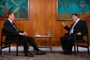 Ratinho saiu em defesa do presidente Jair Bolsonaro - Foto: Divulgação