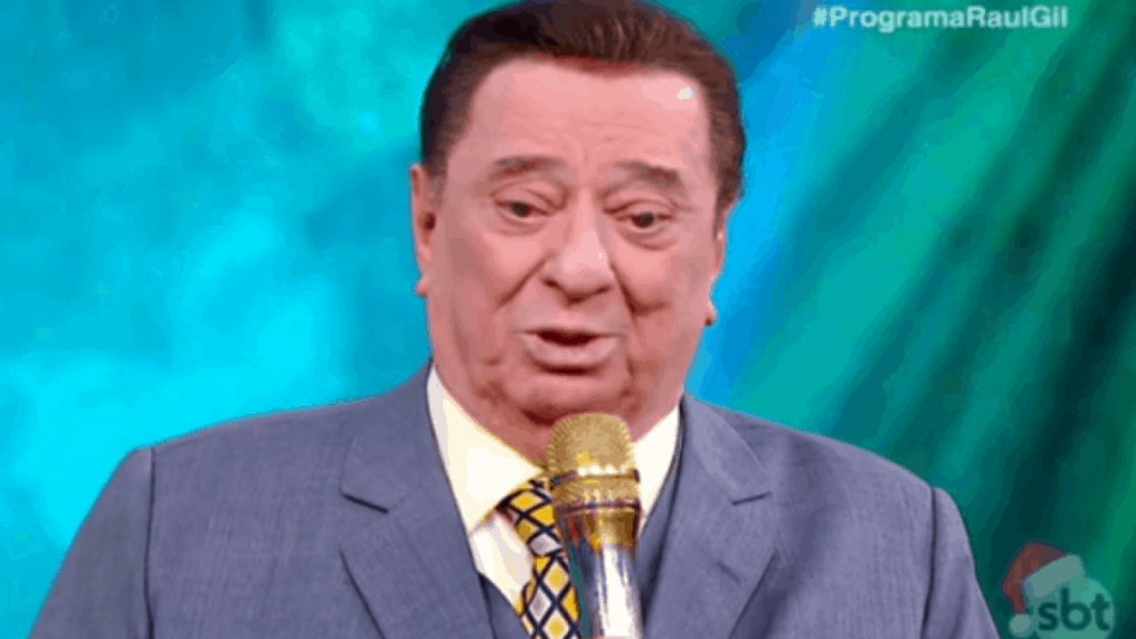 O famoso apresentador do SBT Raul Gil (Foto: Reprodução)