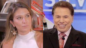 Rebeca Abravanel e Silvio Santos (Foto: Reprodução/YouTube/SBT/Montagem TV Foco)