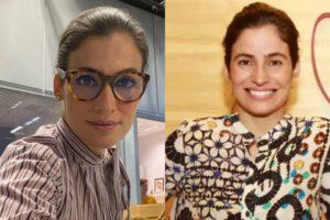 Renata Vasconcellos e sua irmã gêmea, Lanza Mazza (Foto: Reprodução/Instagram/Montagem TV Foco)