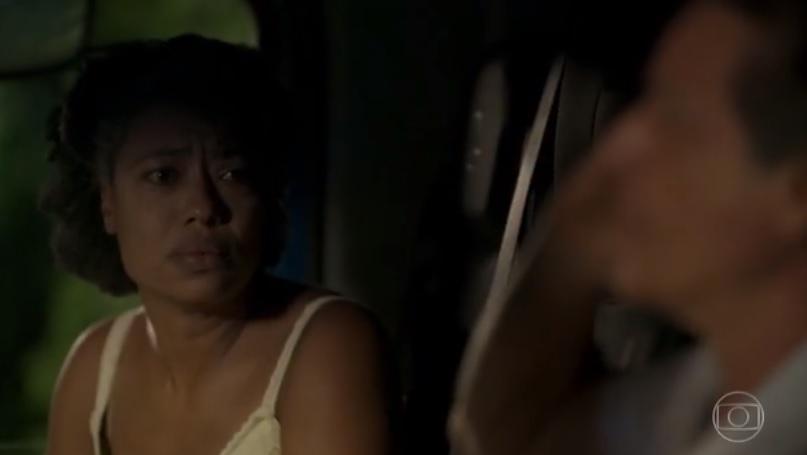 Rita (Mariana Nunes) em cena de Amor de Mãe (Foto: Reprodução/Globo)