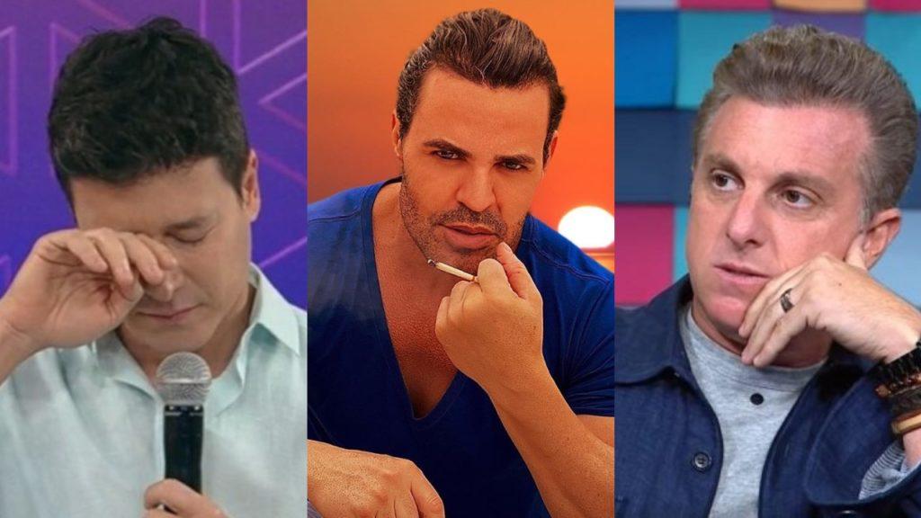 Eduardo Costa disparou a real contra Rodrigo Faro e Luciano Huck (Foto: Reprodução/Instagram/Record/TV Globo/Montagem TV Foco)