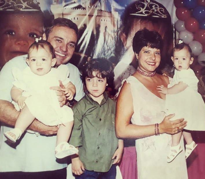 Rose Miriam compartilhou clique em família (Foto: Reprodução/Instagram)
