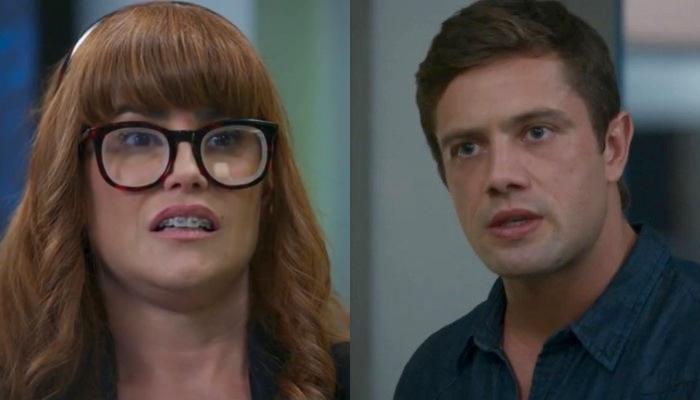 Alexia (Deborah Secco) e Renzo (Rafael Cardoso) em Salve-se Quem Puder (Foto: Reprodução/Globo)