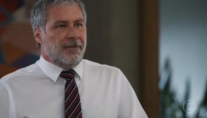 Hugo (Leopoldo Pacheco) é o grande vilão de Salve-se Quem Puder (Foto: Reprodução/Globo)