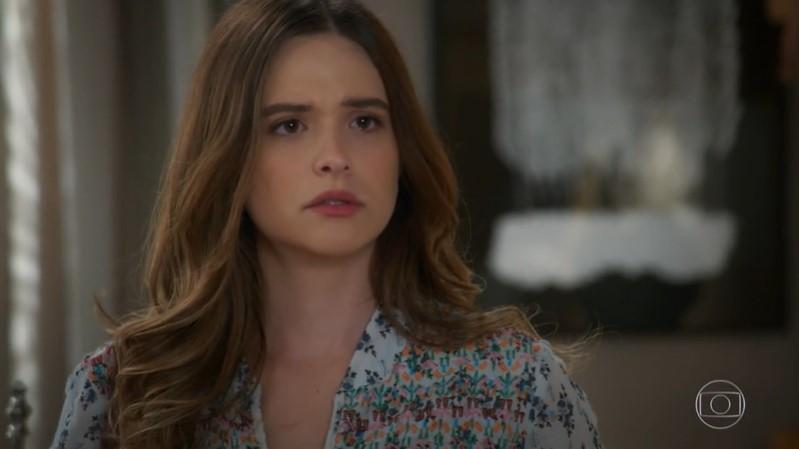 Luna (Juliana Paiva) terá encontro frustrante com Helena (Flávia Alessandra) em Salve-se Quem Puder (Foto: Reprodução/Globo)