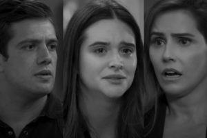 Rafael Cardoso, Juliana Paiva e Deborah Secco estão no elenco de Salve-se Quem Puder; novela sofreu mudanças por causa de outro problema (Foto: Reprodução/Globo)