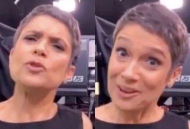 A famosa apresentadora do Globo Repórter, Sandra Annenberg voltou a ficar entre os assuntos mais comentados do momento sugerir que os fãs façam uma viagem sem sair de casa (Foto: reprodução/Montagem TV Foco)