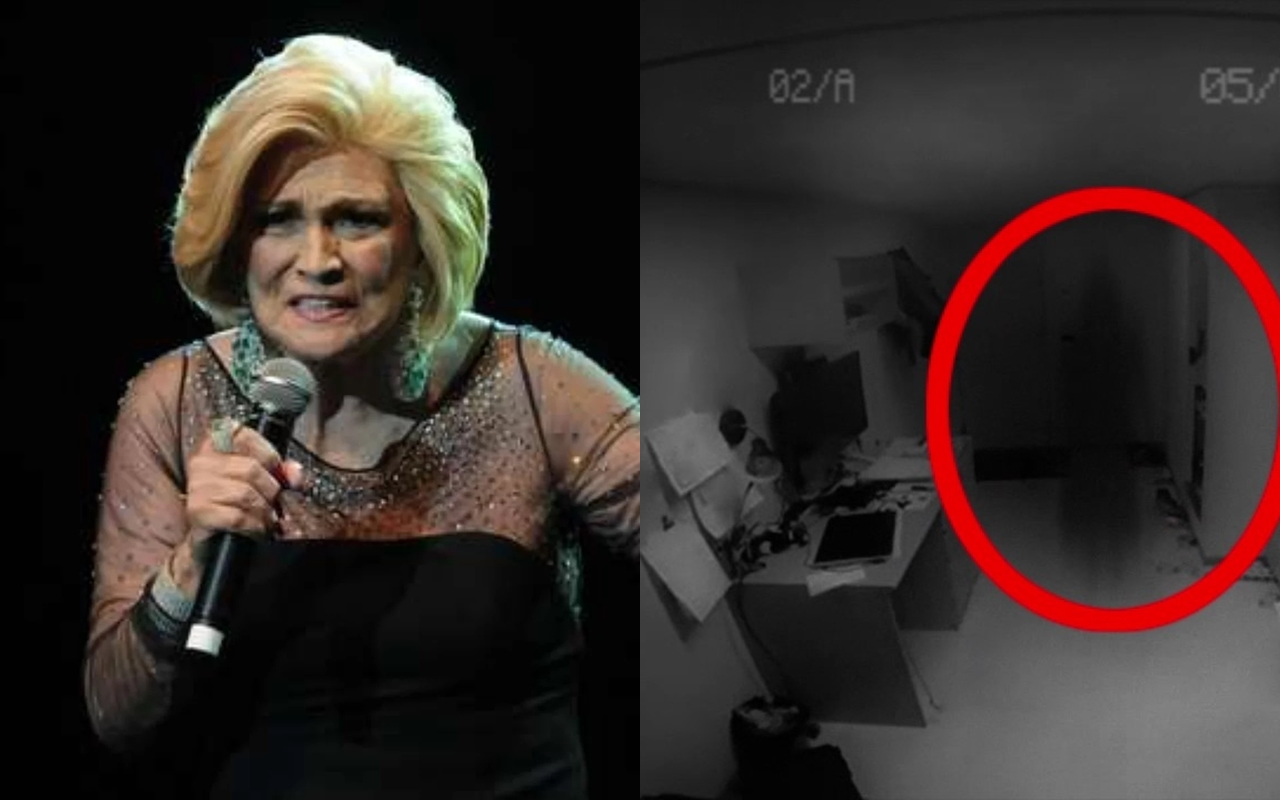 Hebe Camargo ficou apavorada ao ver espíritos no SBT (Foto: Montagem TV Foco)