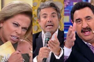 Christina Rocha, João Kleber e Ratinho (Foto: Reprodução)