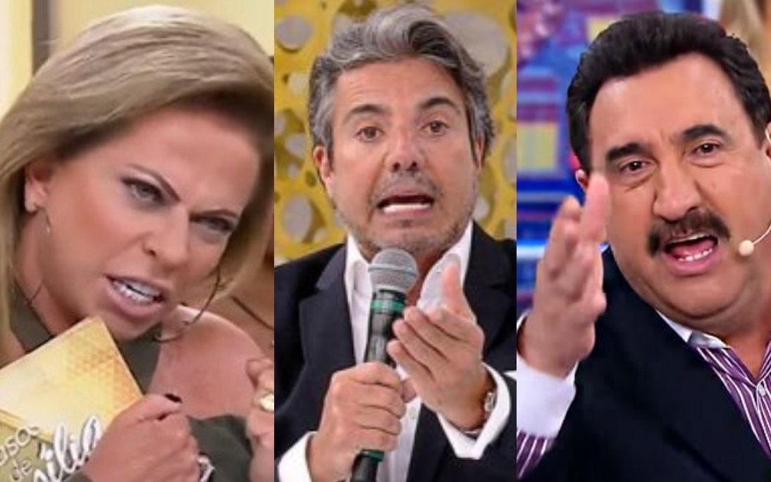 Christina Rocha, João Kleber e Ratinho (Foto: Reprodução) sbt