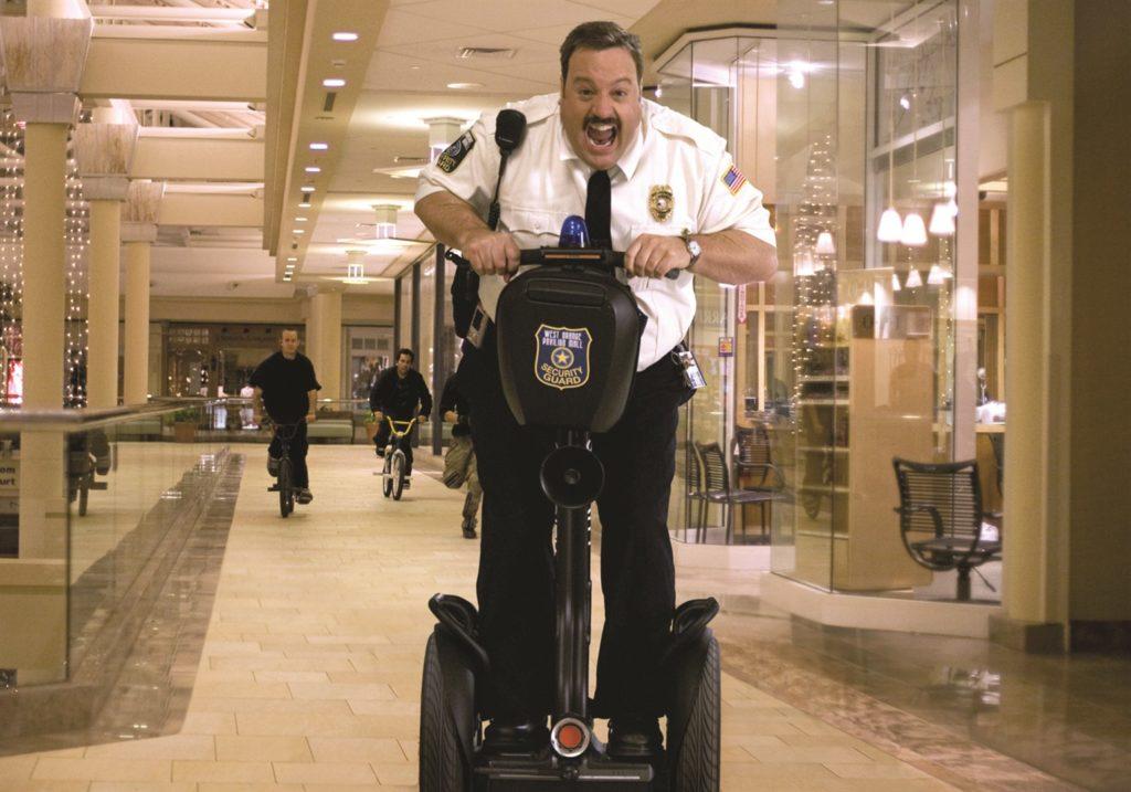 Globo vai exibir o filme Segurança de Shopping na Sessão da Tarde de hoje (Foto: Reprodução)