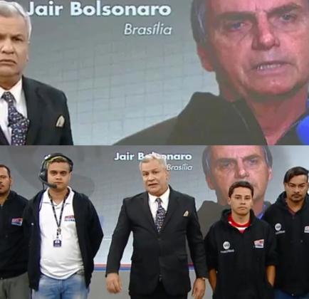 Sikêra Jr. foi acusado de humilhar Bolsonaro ao vivo (Foto: reprodução/RedeTV!)
