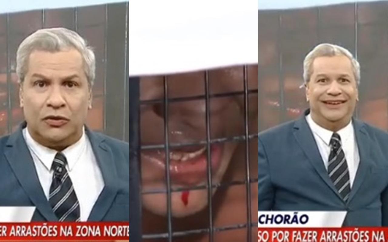 Sikêra Jr. ironiza suspeita de coronavírus em preso (Foto: Montagem TV Foco/RedeTV!)