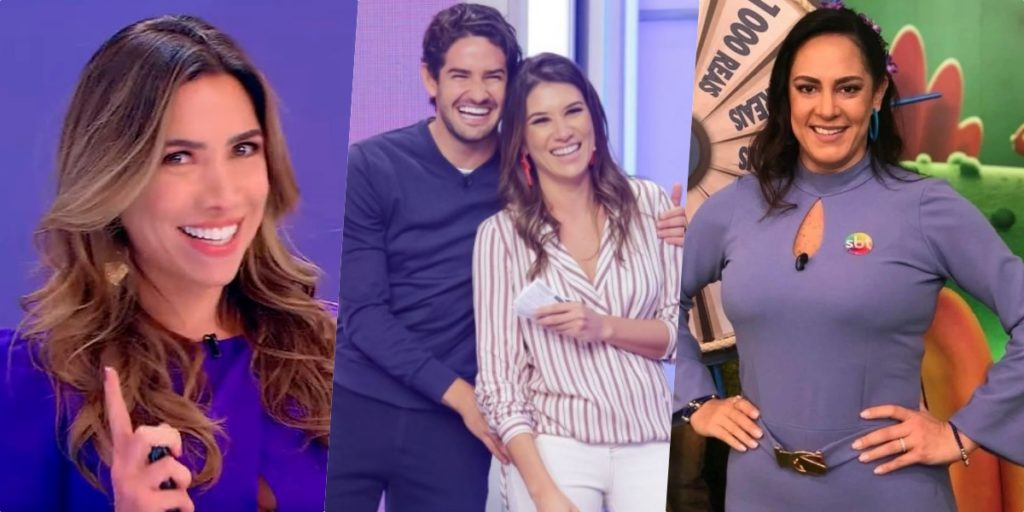 Famosa sensitiva fez precisões bombásticas para Silvia Abravanel, Rebeca Abravanel e Patrícia Abravanel (Foto montagem: TV Foco)