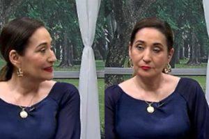 Sonia Abrão apresentou o A Tarde é Sua de maneira diferente (Foto: Reprodução/RedeTV!/Montagem TV Foco)