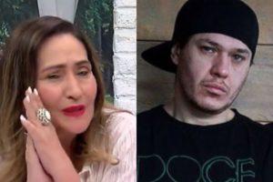 Sonia Abrão se emocionou muito ao relembrar morte de Chorão no A Tarde é Sua (Foto: Reprodução/RedeTV!/Divulgação/Montagem TV Foco)