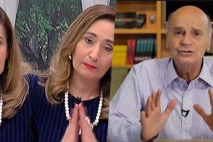 Sonia Abrão, assim como o Brasil, ficou chocada, ao descobrir o que presidiaria do Fantástico fez (Foto montagem)
