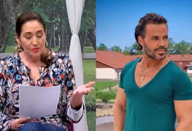 Sonia Abrão e Eduardo Costa fizeram as pazes (Foto: Reprodução/RedeTV!/Instagram/Montagem TV Foco)