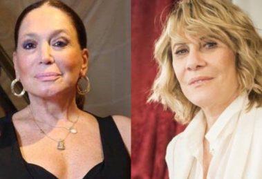 Susana Vieira foi flagrada falando mal de Renata Sorrah (Montagem: TV Foco)
