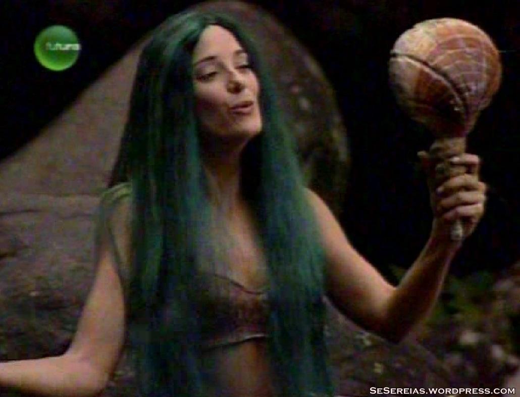 A atriz em 'Sítio do Picapau Amarelo' (Foto: reprodução)