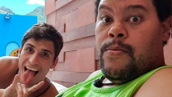 Felipe Prior e Babu no BBB20. (Foto: Reprodução)