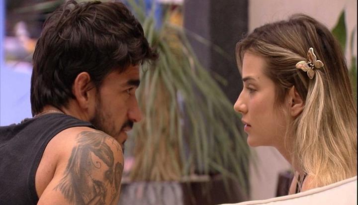Guilherme e Gabi tiveram relação complicada no BBB20. (Foto: Reprodução)