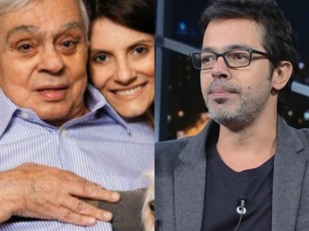 A viúva de Chico Anysio, Malga Di Paula veio à público mais uma vez acusar o famoso ator e comediante da Globo, Bruno Mazzeo de a estar ignorando para não dividir a herança (Foto: Reprodução/Montagem TV Foco)