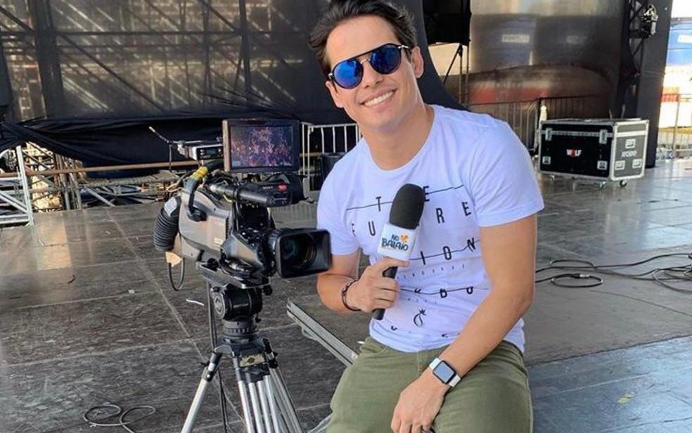 Apresentador da Globo é diagnosticado com coronavírus (Foto: Reprodução)