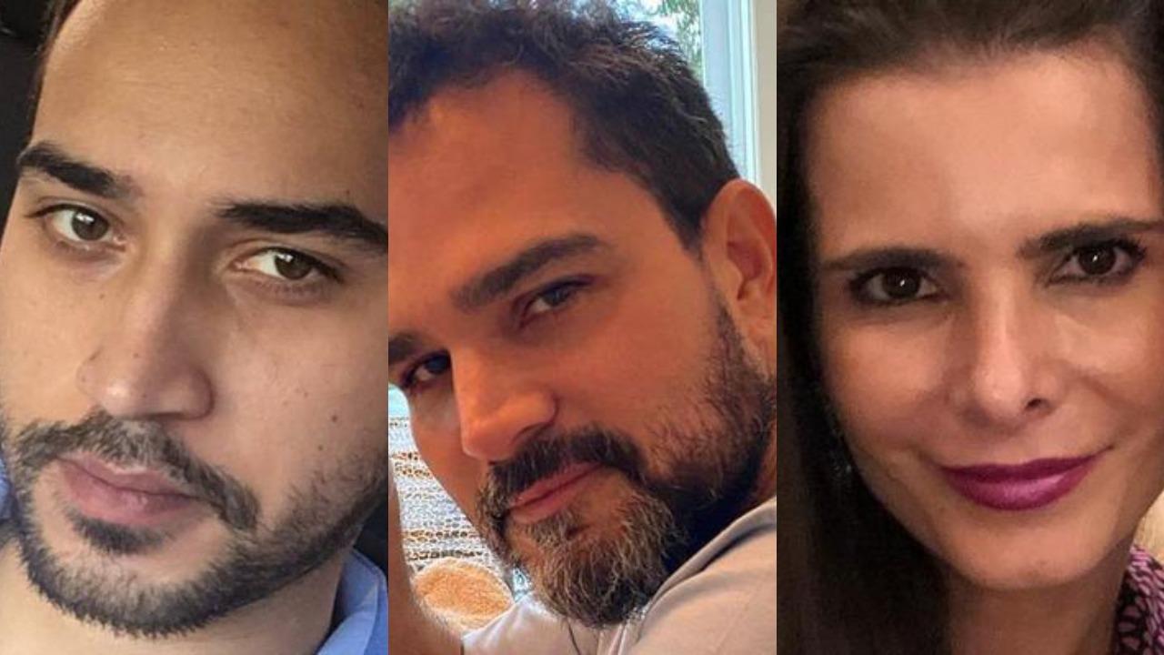 Wesley Camargo, Luciano Camargo e Flávia Fonseca (Foto: Reprodução/Instagram/Montagem TV Foco)