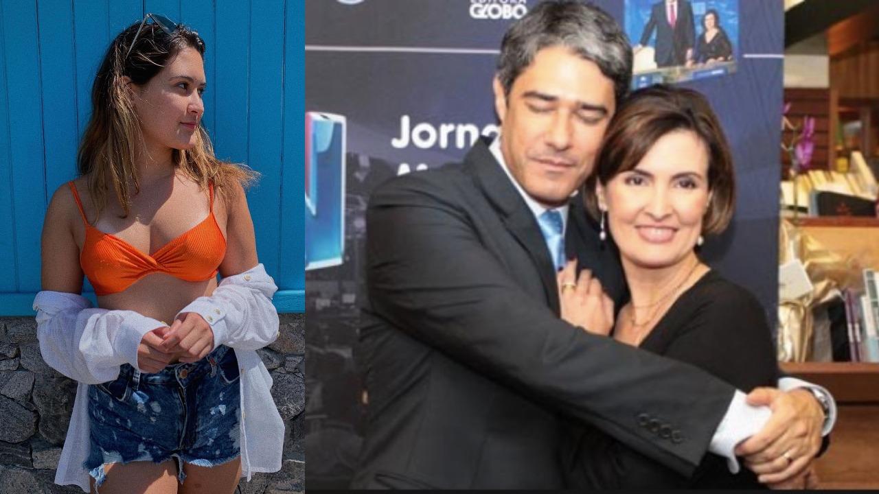 Bia Bonemer é filha de Fátima Bernardes e William Bonner (Foto: Reprodução/Instagram/TV Globo/Montagem TV Foco)