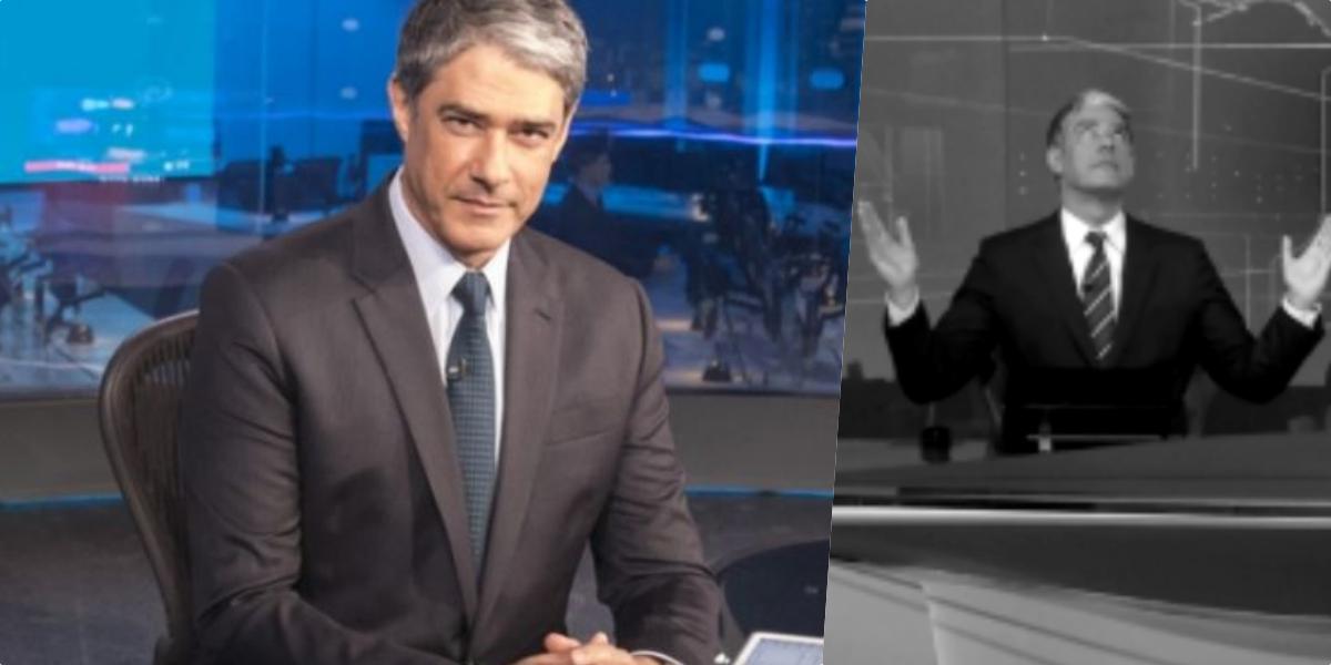 William Bonner do Jornal Nacional da Globo teria tomado decisão que deixou muita gente revoltada (Foto reprodução)
