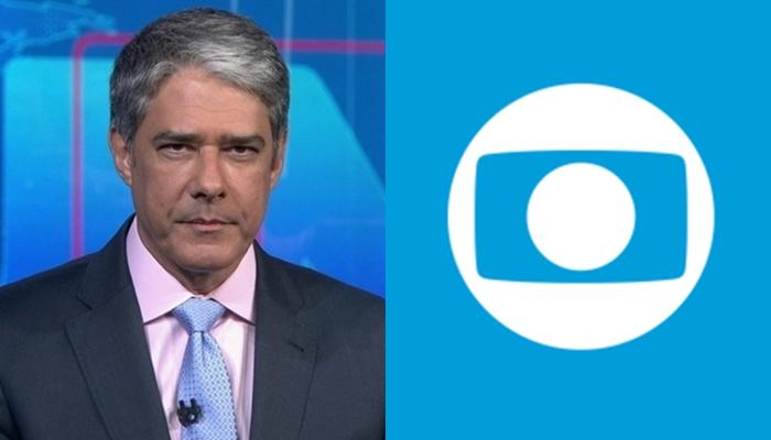 William Bonner no comando do Jornal Nacional, que virou programa mais caro da TV (Foto: Reprodução/Globo/Montagem TV Foco)