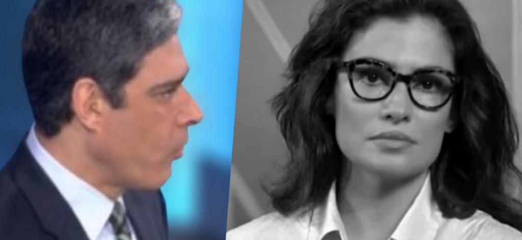 William Bonner e Renata Vasconcellos viram motivo de assunto no Jornal Nacional da Globo (Foto montagem: TV Foco)